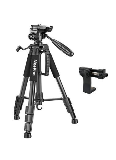 Techmaster Telefon Kamera Youtuber Tripodu Tripod 47-175cm NP-8850 Renkli